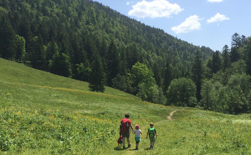 Über die Buchsteinhütte zu den Roßstein Almen