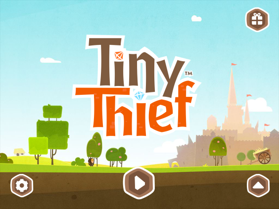 Tiny Thief Startscreen