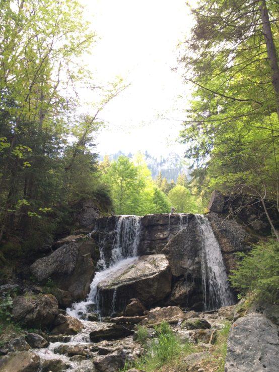 Am Anfang ist mehr Wasserfall.
