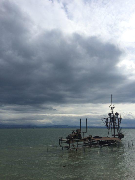 In Friedrichshafen wurde der epische Kevin Costner-Flop Waterworld gedreht