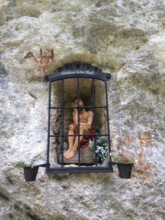 Christus in der Haft.