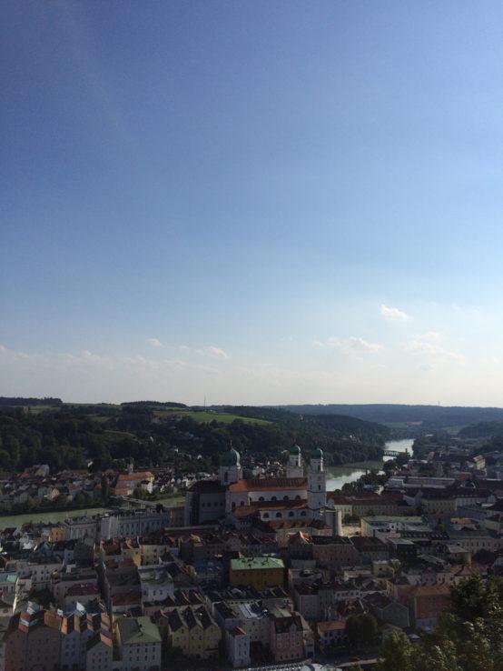 … der Blick auf Passau …