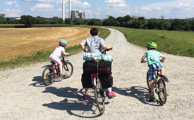 Mit Kindern auf dem Isarradweg von München nach Passau