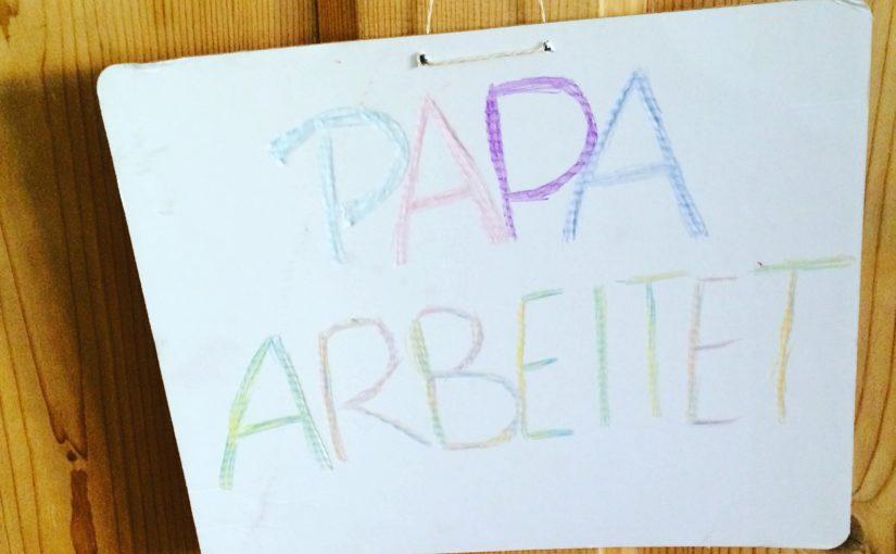 #12von12 im September 2016 – Papa arbeitet